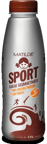 Matilde Kakaomælk med kulhydrater og proteiner
