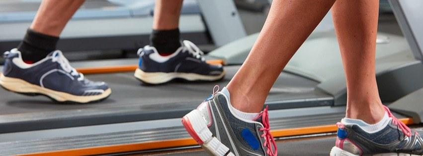Intervaltræning på løbebånd
