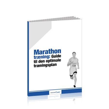 marathon træning guide - 3d cover